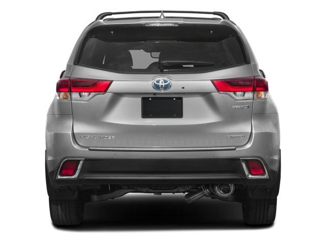 2018 Toyota Highlander Hybrid Limited Platinum In New London Ct Girard